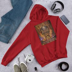 Jason Voorhees Friday the Halloween Horror Movie Hooded Sweatshirt Halloween Horror Movies, African Princess, Heather White, Nightmare On Elm Street, Rib Knit, Hooded Sweatshirts, Hoods, Pullover, Stylish