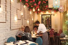 Espacios agradables Mil 9 restaurante
