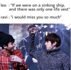 Vixx: 'I would miss you so much.' XD [K-pop]