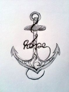 Hope Is Like An Anchor, It Sinks To The Very Depths Of Your Soul And Keeps You…