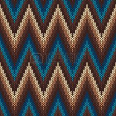 Illustration of Traditional Fair Isle Pattern. Seamless Knitting Ornament vector art, clipart and stock vectors. Tapestry Crochet Patterns, Fair Isle Knitting Patterns, Fair Isle Pattern, Knitting Charts, Maori Patterns, Pixel Art Templates, Crochet Ripple, Pixel Pattern, Tapestry Bag