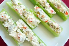 Olives and cream cheese.  Great snack and great finger food for parties