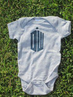 Doctor Who Body bébé par CraftsbyCasaverde sur Etsy