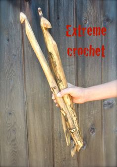 25mm Extreme Crochet hook large crochet by HeavenSpunCreations, $28.00
