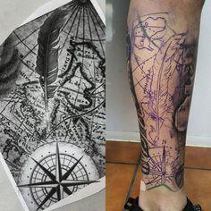 full black sleeve tattoo meaning Black Sleeve Tattoo, Arm Sleeve Tattoos, Tattoo Sleeve Designs, Map Tattoos, Tribal Tattoos, I Tattoo, Tattoo Japanese Style, Heaven Tattoos, Pirate Tattoo
