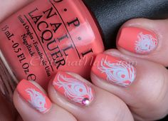 ChitChatNails » Blog Archive » Retro Peacock