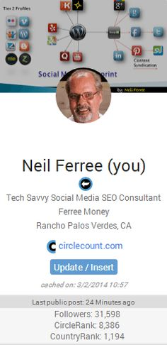 Google+ Hovercard by #JNFerree for #FerreeMoney There are over 20 ways to optimize your Google+ Hovercard ♠ Can you name them?