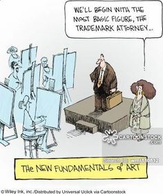 CartoonStock - The New Fundamentals of Art: 'We'll begin with the most basic figure, the trademark attorney. Cartoon Drawings Of People, Couple Drawings, Drawing People, Girl Face Drawing, Cartoon Girl Drawing, Creating Positive Energy, Life Lyrics, Super Healthy Recipes, Comic Artist