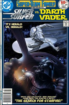 Silver Surfer Vs. Darth Vader - Super-Team Family: The Lost Issues