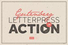 Gutenberg - Letterpress Action