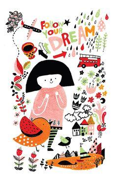 Image of Follow your dream by Jieun Kim