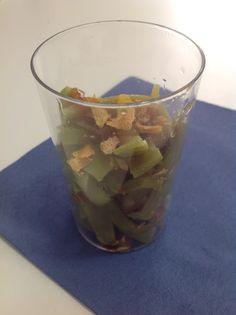 Alubia verde con escamas de limón. Que bueno estaba el plato. elperolas.blogspot.com