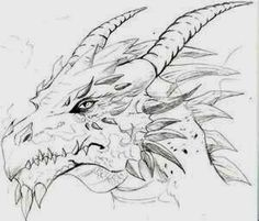 Cool dragons to draw cool dragon sketch cool dragon drawings pencil art cool dragon sketches dragons Cool Dragon Drawings, Dragon Head Drawing, Dragon Sketch, Dragon Artwork, Dragon Head Tattoo, Drawings Of Dragons, Animal Drawings, Pencil Drawings, Art Drawings