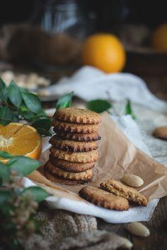 Biscotti alle mandorle, olio d'oliva e arancio - Campi di Fragole per Sempre