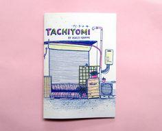 Tachiyomi  un zine di disegni dal mio viaggio a di ashleyronning