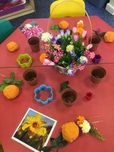 Flower arranging!