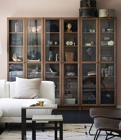 Contemporary Dining Hutch Ikea Awesome Bookcases and Shelves Than Contemporary Dining Hutch Ikea Ideas Inspirations – Home design Ikea Living Room, Living Room Storage, Living Rooms, Shopping Ikea, Shopping Hacks, Billy Oxberg, Billy Regal, Home Interior, Interior Design