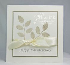 Crazy About You Anniversary Card Aniversary Cards, Wedding Aniversary, Wedding Anniversary Cards, Happy Anniversary, Wedding Cards, Crazy About You, Craft Wedding, Sympathy Cards, Love Cards