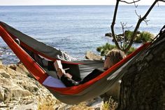 ENO Hammock Review:  Lightweight, Comfortable, Compact. Great addition to a camping trip.
