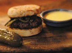 Zakary Pelaccio's Lamb Burgers   Serious Eats : Recipes