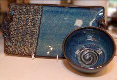 Pottery by Memphian, Lisa Hudson.   www.morethanwords.com  #pottery #dishwashersafe