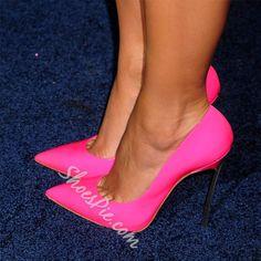 Sexy Girls' Love Point-Toe Heels