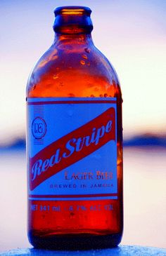 The most recognizable and loved beer in Jamaica. #RedStripe #jamaica.