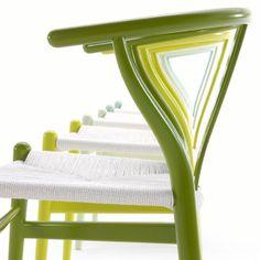 Green = great. http://www.danishdesignstore.com/products/citrus-series-ch24-wishbone-chair-by-hans-j-wegner