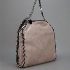 Stella McCartney Falabella Nude Taupe Great condition! Authentic and purchased at nordstroms. This is the smaller size Falabella. Can be worn with two chains or longer chain and foldover. No trades!!!! Stella McCartney Bags Shoulder Bags