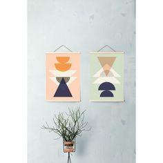 Maya juliste, minttu – Ferm Living – Osta kalusteita verkossa osoitteessa ROOM21.fi