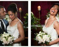Gina Torres, One Shoulder Wedding Dress, Wedding Dresses, Celebrities, Fashion, Bride Dresses, Moda, Bridal Gowns, Celebs