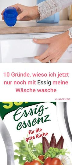 10 Gründe wieso du mit Essig waschen solltest 10 reasons why you should only wash your laundry with vinegar Household Cleaning Tips, Diy Cleaning Products, Cleaning Hacks, Crafts For Teens To Make, Diy Crafts To Sell, Easy Crafts, Sell Diy, Kids Diy, Decor Crafts
