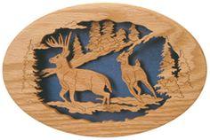 Woodland Running Deer