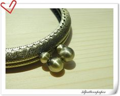 8.5+cm+Anti+bronze+half+round+double+bobble+by+3Dpatternpaper,+$2.50