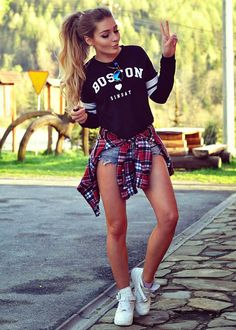 Styleev Casual Outfits For Teens, Cute Outfits For School, Outfits With Converse, Mom Outfits, College Outfits, Spring Outfits, Trendy Outfits, Estilo Cool, Teen Fashion