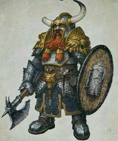 Bruenor Battlehammer: King of Mithral Hall