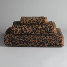 Leopard Print Towels