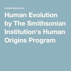 Human Evolution by The Smithsonian Institution s Human Origins Program  Human Evolution 99b7d76370e
