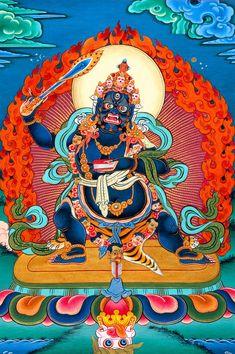 Bodhisattva of Wisdom manjushri Tibetan thangka paper poster home wall Buddha Buddhism, Tibetan Buddhism, Buddhist Art, Lotus Kunst, Lotus Art, Tibet Art, Nepal Art, Tantra Art, Vajrayana Buddhism