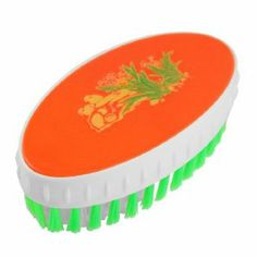 Amico Orange Red Green Plastic Oval Shape Clothes Shoes Cleaning Scrub Brush by Amico. $4.09. Color : Green, Orange Red , White. Package Content : 1 x Scrubbing Brush. Product Name : Scrubbing Brush;Main Material : Plastic. Total Size : 12 x 6 x 4cm/ 4.7'' x 2.4'' x 1.5'' (L*W*H). Net Weight : 42g. Ergonomically designed handles offer less tension on the hands, while giving an outstanding slip-proof grip. Suitable to clean the clothes, shoes, floor, kitchenware, car whe...