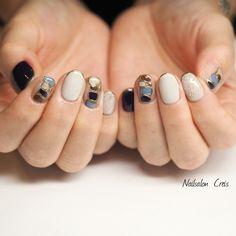 Japan Nail, Luxury Nails, Trendy Nails, Gel Nails, Nail Designs, Nail Art, Makeup, Beauty, Handsome