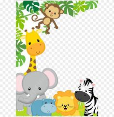 Safari Theme Birthday, Wild One Birthday Party, Safari Party, Monkey Birthday Parties, Baby Boy 1st Birthday, Kids Background, Diy Party Decorations, Painting For Kids, Felt Animals