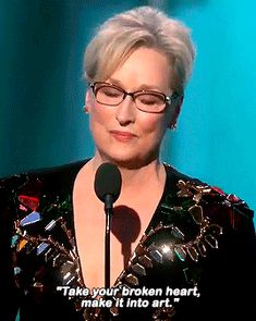 Meryl Streep made a speech for the ages. | 19 Moments From The 2017 Golden Globes That You Should Know About