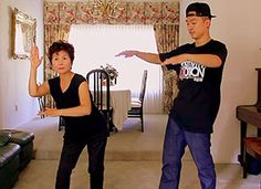 Mother and Son Dance Gangnam Style