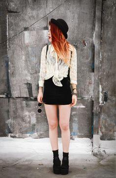 Blouse- Vintage / similar here Blazer – She Inside Sandals – Romwe Sunglasses – Romwe Hat – ASOS