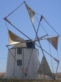 Moinho de Vento de Bernardino - Atouguia da Baleia