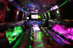 Giant Limousine interior