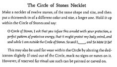 Appreciatively sourced from Cunningham's Book of Shadows.