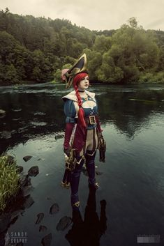 Captain (Miss) Fortune from League of Legends Cosplay:Sandygraphy Photo:Studio Zahora #missfortune  #cosplay #leagueoflegends #lol #lolcosplay #cosplayer #pirate #fortune