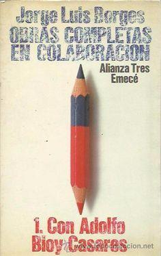 OBRAS COMPLETAS EN COLABORACIÓN I (CON BIOY CASARES) - JORGE LUIS BORGES - ALIANZA EDITORIAL - Foto 1